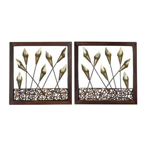 Delph Framed Tulip 2 Piece Framed Graphic Art Set