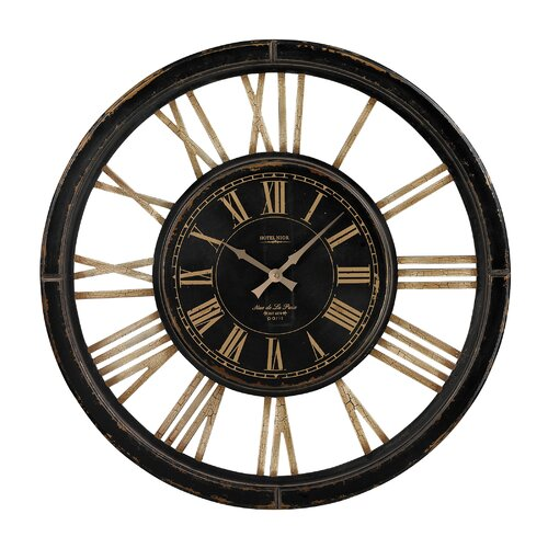 Sterling Industries Oversized 32 Large Wall Clock Reviews Wayfair