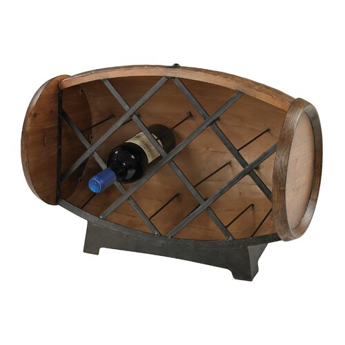 8 Bottle Tabletop Wine Rack