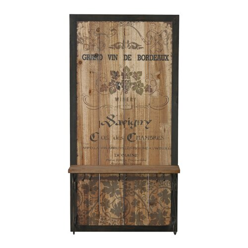 Grand Vin De Bordeaux Wall Decor With Hook
