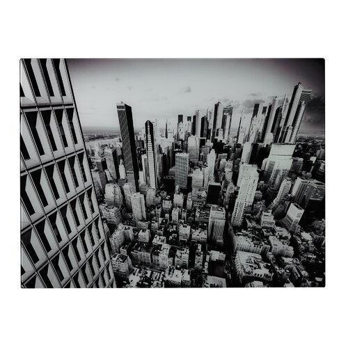 Manhattan New York City Graphic Art on Canvas