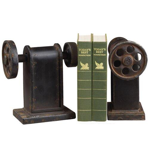 Sterling Industries Industrial Book Press Book Ends