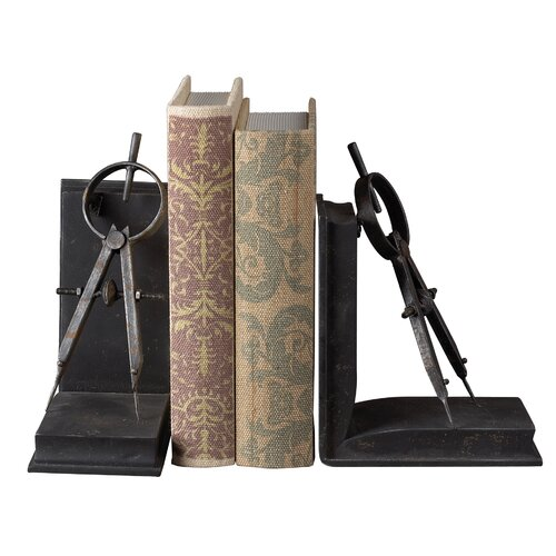 Sterling Industries Compass Book Ends