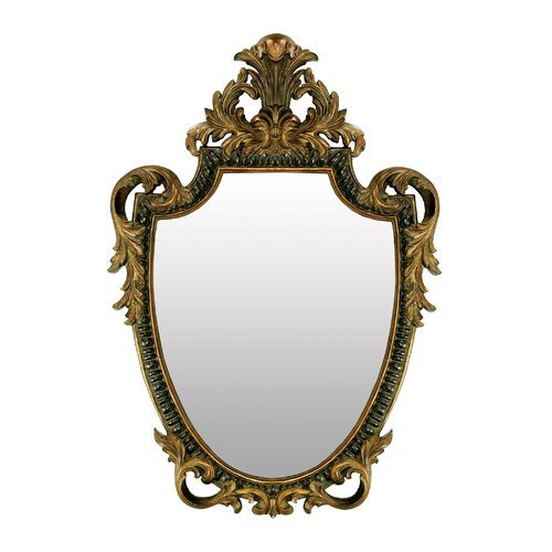 Sterling Industries  Acanthus Shield Mirror