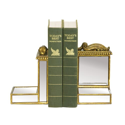 Sterling Industries Mirrored Book Ends