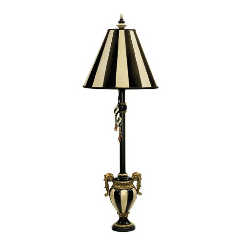 "Sterling Industries Carnival Stripe 32"" H Table Lamp with Empire Shade"