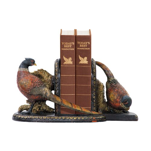 Sterling Industries Autumn Pheasant Book Ends