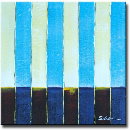 Baby Stripes Original Painting on Canvas