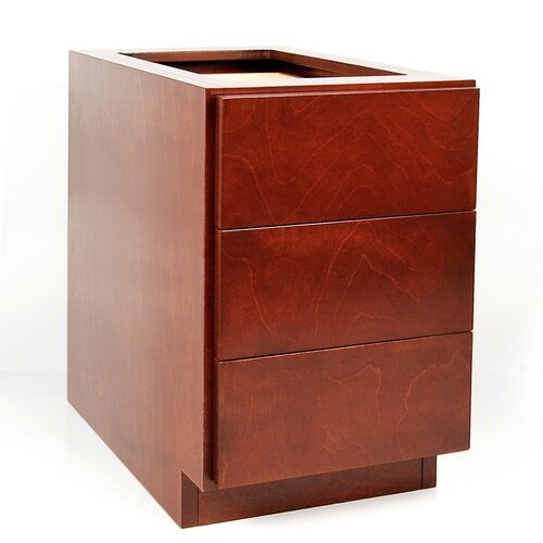 MDV Modular Cabinetry 3 Drawer Drawer Base Cabinet