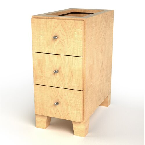 D'Vontz All Wood Drawer Base Cabinet