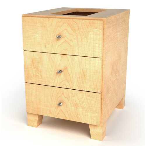 Drawer Base Footed Cabinet