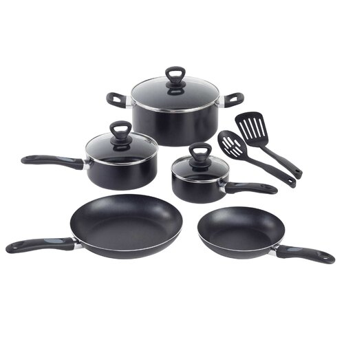 Get-A-Grip 10 Piece Cookware Set