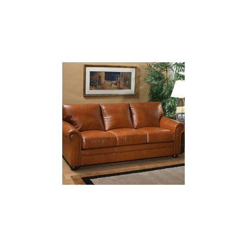 Georgia Leather Sleeper Sofa