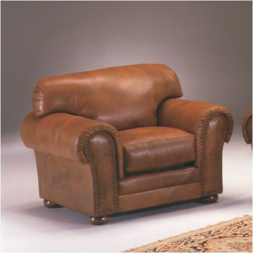 Omnia Furniture Cheyenne Leather Chair