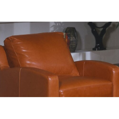 Omnia Furniture Chelsea Deco Leather Chair