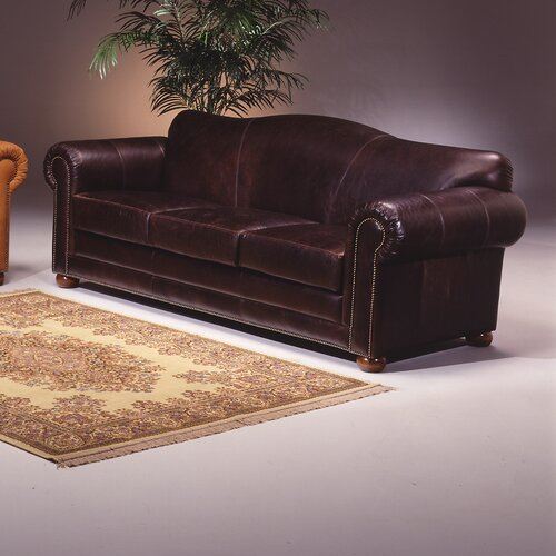 Sedona Leather Sleeper Loveseat