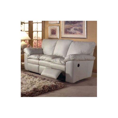El Dorado Leather Reclining Loveseat