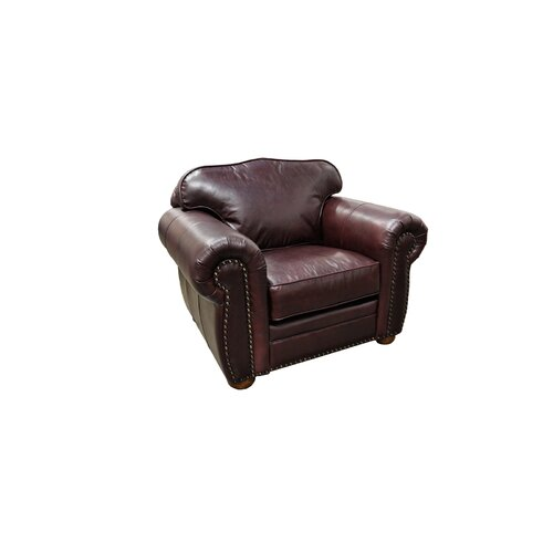 Omnia Furniture Monte Carlo Leather Armchair