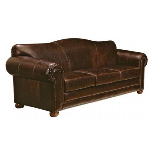 Omnia Furniture Sedona Leather Sleeper Sofa