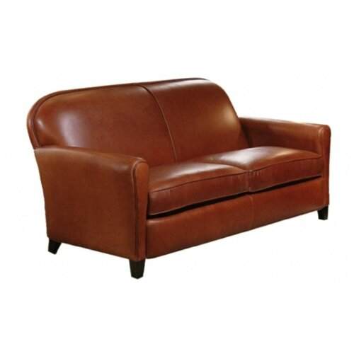 Omnia Furniture Buenos Aires Leather Sofa