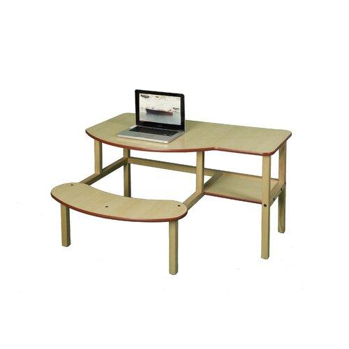 Wild Zoo Preschool Buddy Computer Desk