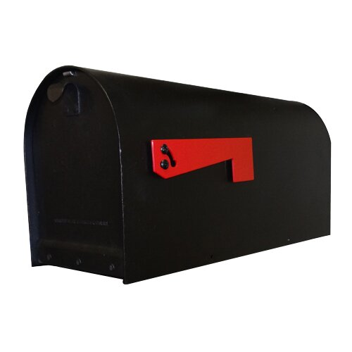Titan Aluminum Post Mounted Mailbox