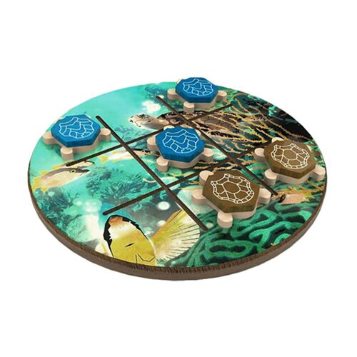 WWF by Terra Toys WWF Turtle Tic-Tac-Toe from FSC Certified Wood