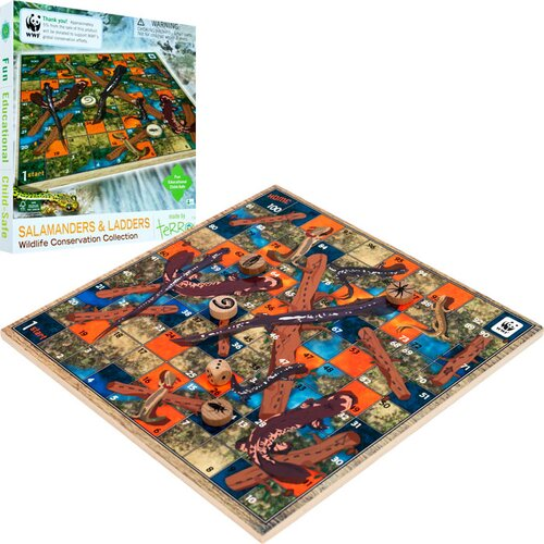 WWF by Terra Toys WWF Salamanders & Ladders from FSC Certified Wood