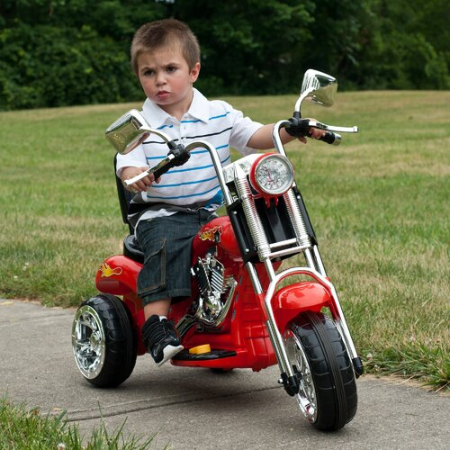 Lil' Rider Rocking Chopper 6V Battery Powered Motorcycle
