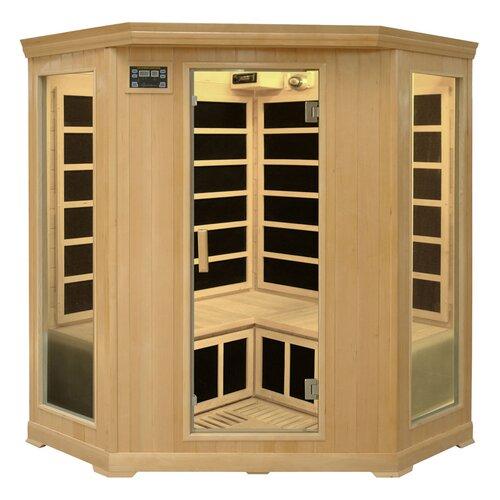 Family Series 3-4 Person Corner Carbon FAR Infrared Sauna