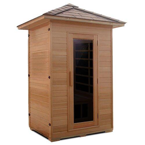 Series 2 Person Carbon FAR Infrared Sauna with Zero EMF Upgrade