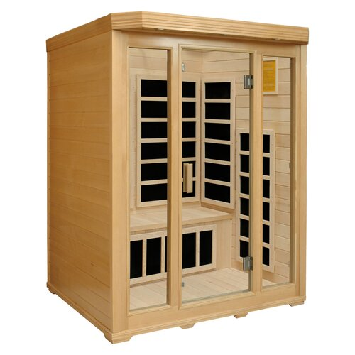 Crystal Sauna Basic Series 3 Person Carbon FAR Infrared Sauna