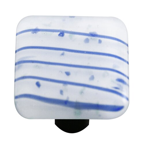 "Hot Knobs Mardi Gras 1.5"" Square Knob"