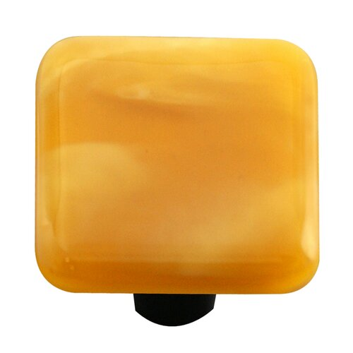 "Hot Knobs Swirl 1.5"" Square Knob"