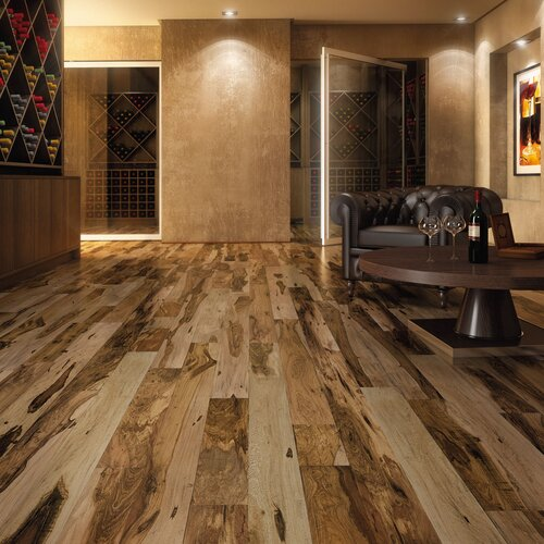 """IndusParquet 3-1/8"""" Solid Hardwood Brazilian Pecan Flooring"""