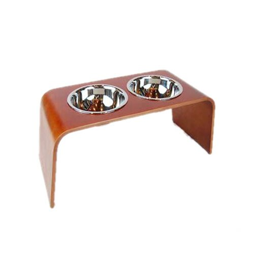 Bergan Pet Products Wood Elevated Dog Feeder