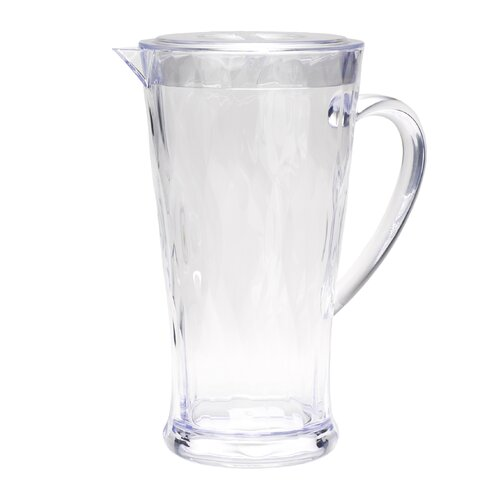 Madison Bloom 78 Oz. Clear Pitcher with Lid