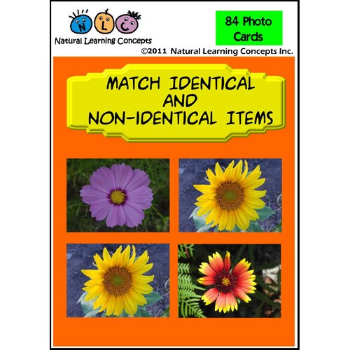 Natural Learning Concepts Match Identical and Non-Identical Items