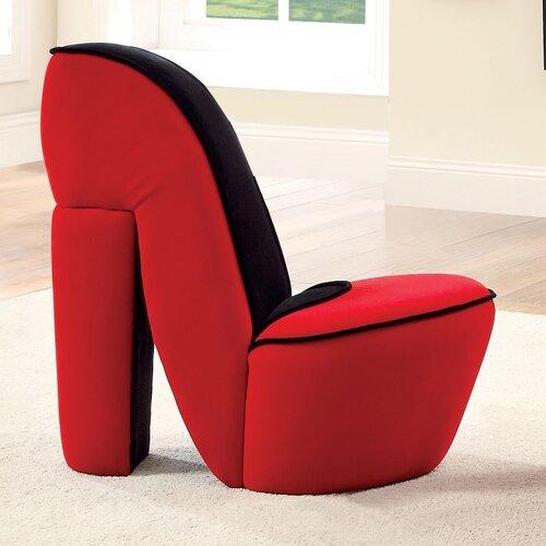 Stiletto Heel Side Chair