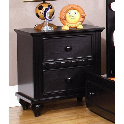 Hokku Designs Kennedy 2 Drawer Nightstand