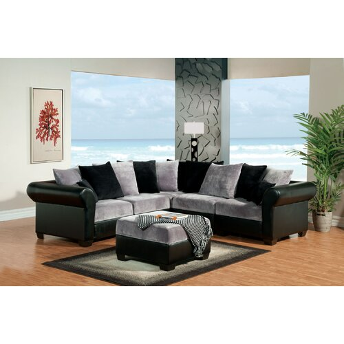 Pippali Sectional with Ottoman