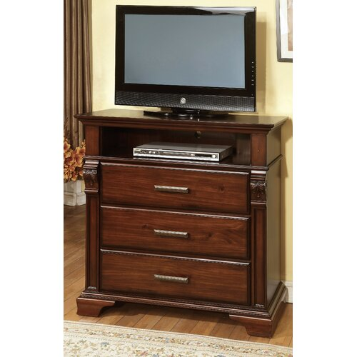 Montana 3 Drawer Media Chest