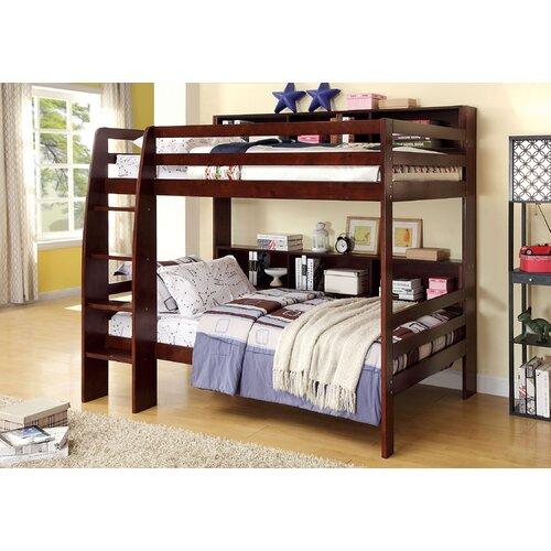 Margerie Twin Over Twin Bunk Bed with Ladder