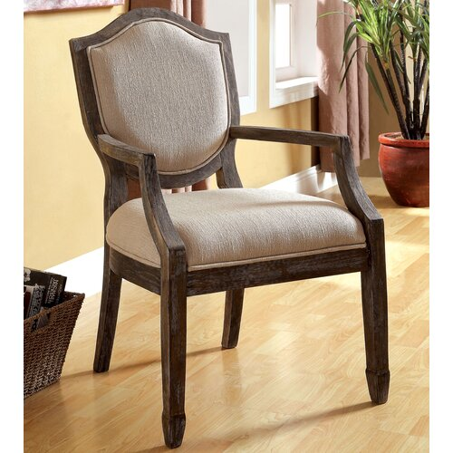 Bernetta Cotton Arm Chair