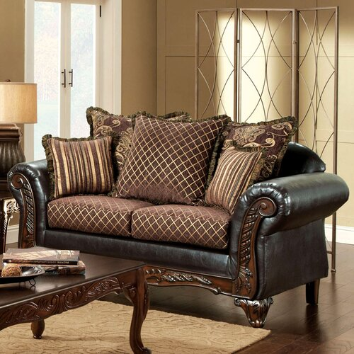 Hokku Designs Constantine Ornate Loveseat