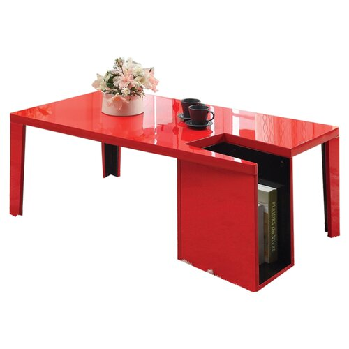 Zedd Coffee Table with Magazine Rack