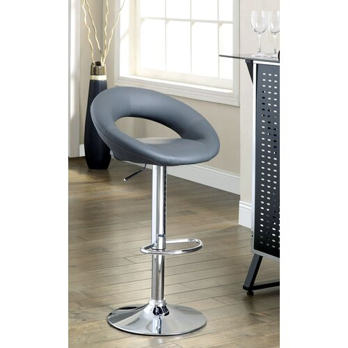 Theory Adjustable Swivel Bar Stool (Set of 2)