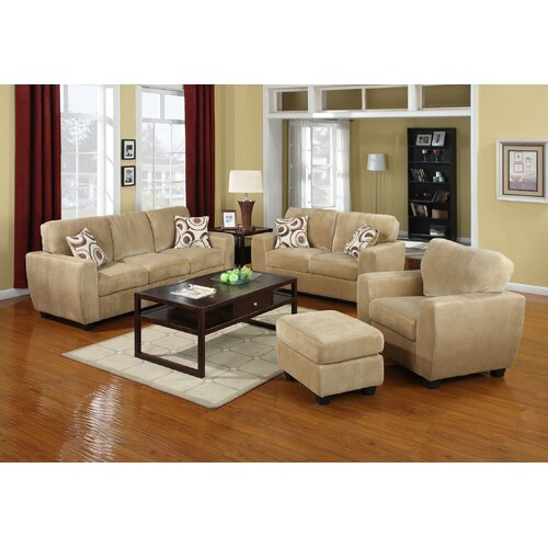 Champion Fabric Padded Sofa Set