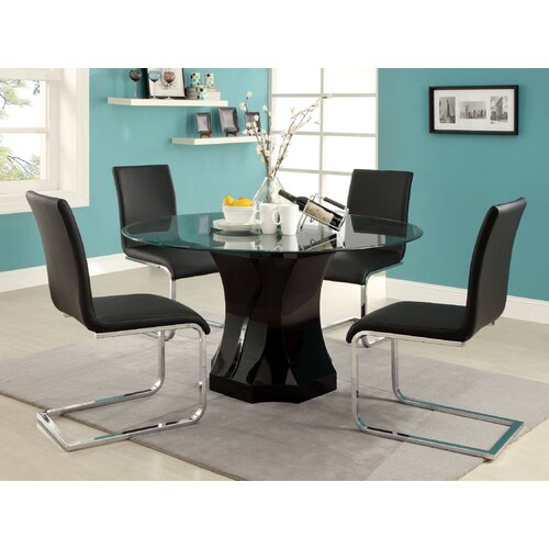 Enitial Lab Crystal 5 Piece Dining Set