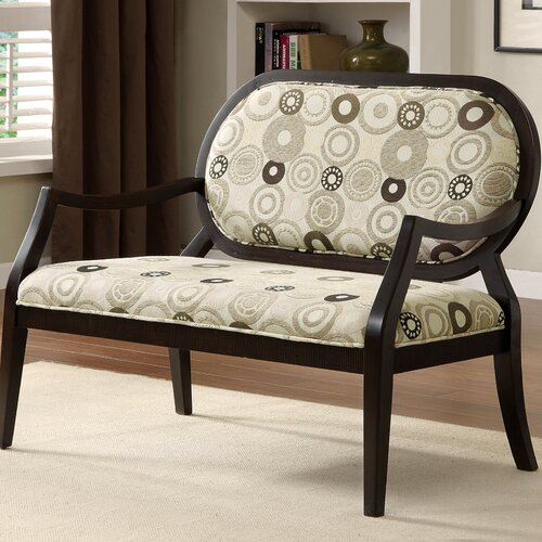 Contemporary Upholstered Bench